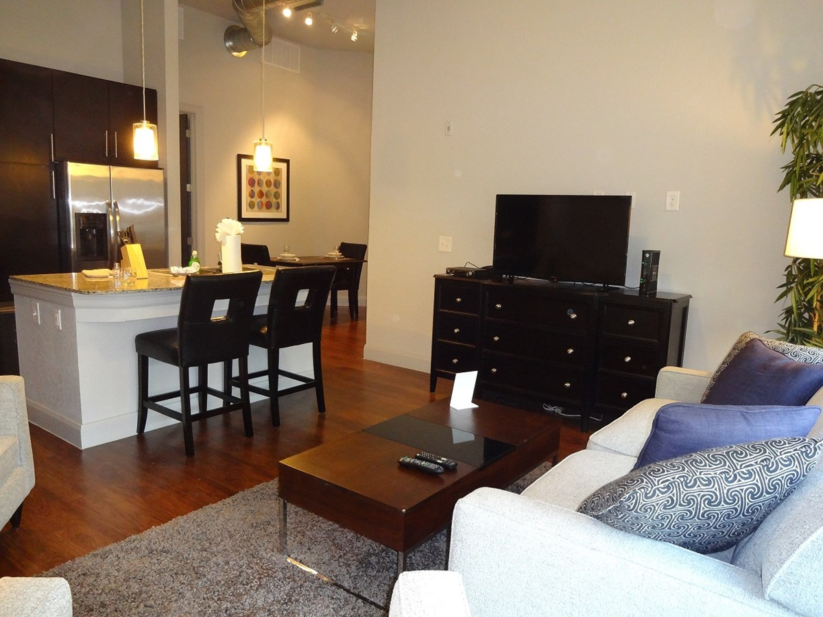 Living Area at Listing #150409