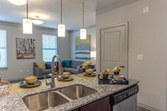 Living/Kitchen at Listing #278174