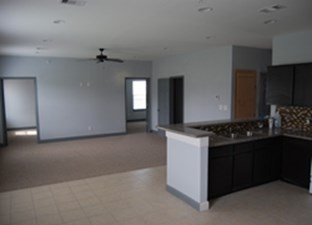 Living/Kitchen at Listing #329073