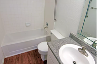 Bathroom at Listing #139259