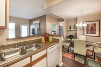 Dining/Kitchen at Listing #144590
