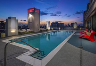 Pool at Listing #275970