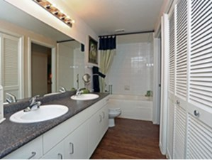 Bathroom at Listing #140783
