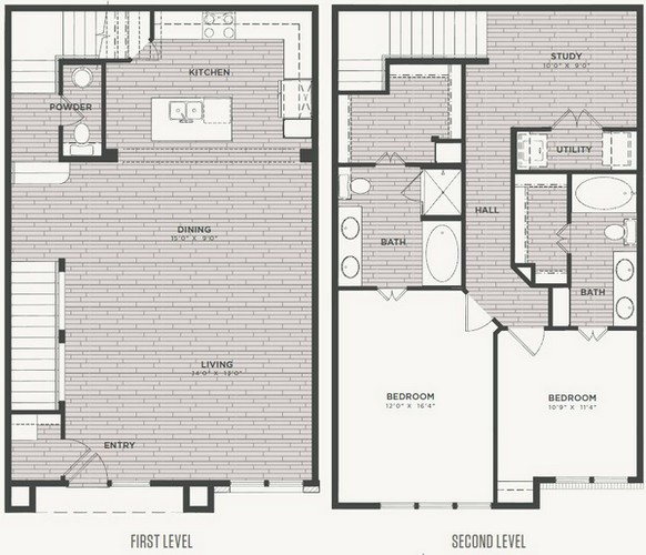 1,748 sq. ft. B2 floor plan