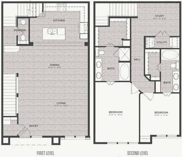 1,748 sq. ft. B2 floor plan
