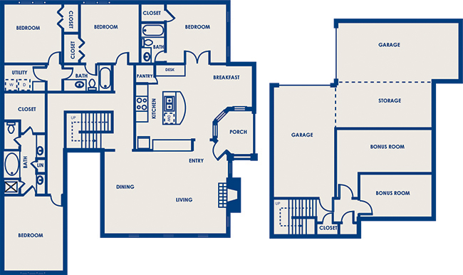 2,254 sq. ft. 43A floor plan