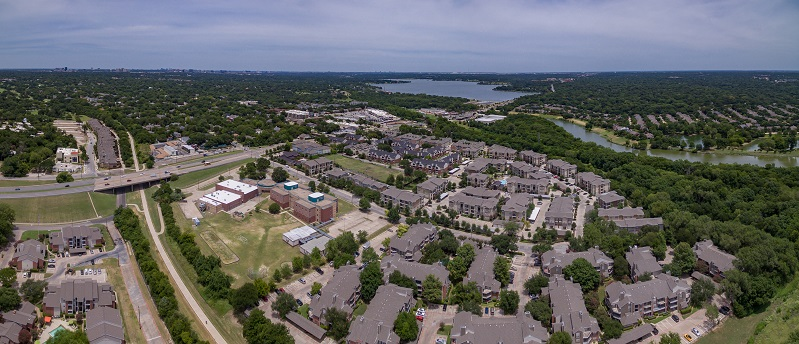 Aerial View at Listing #225091