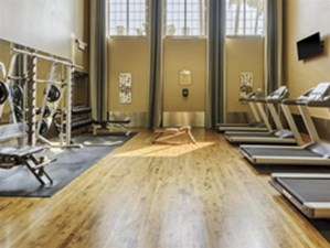 Fitness Center at Listing #138926