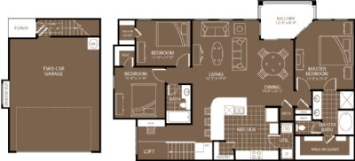 1,578 sq. ft. Sydney floor plan