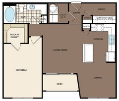 848 sq. ft. A3-alt1 132 floor plan