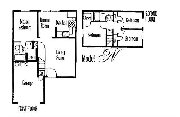 1,368 sq. ft. floor plan