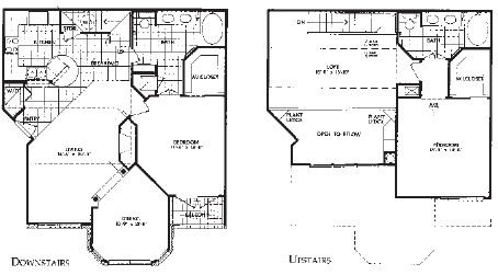 1,556 sq. ft. B3 floor plan