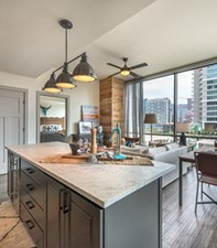 Living/Kitchen at Listing #276922