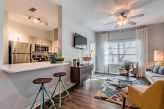 Living/Kitchen at Listing #138205