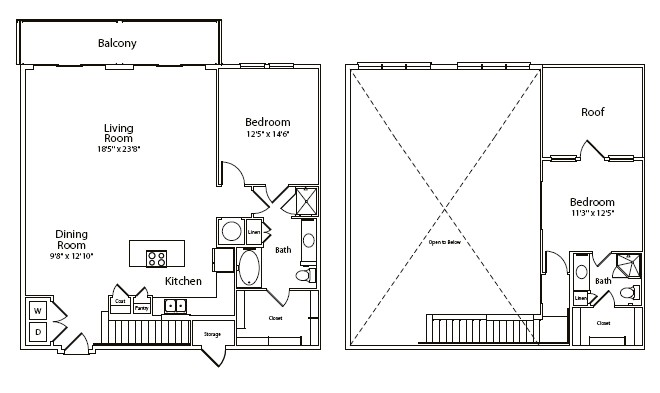 1,623 sq. ft. floor plan
