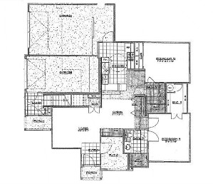 1,024 sq. ft. to 1,053 sq. ft. floor plan