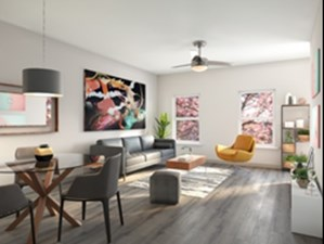 Living Area at Listing #313698