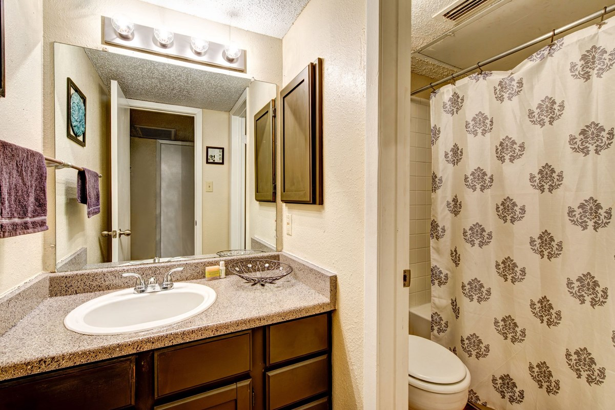 Bathroom at Listing #140998