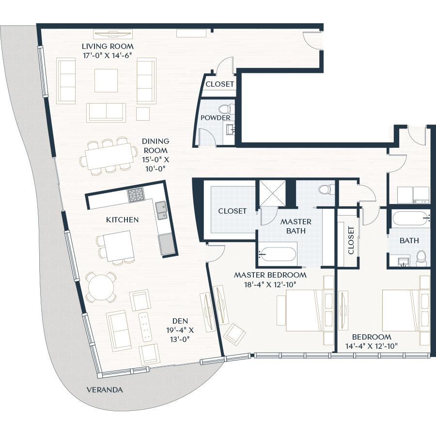 2,532 sq. ft. B10.1D floor plan
