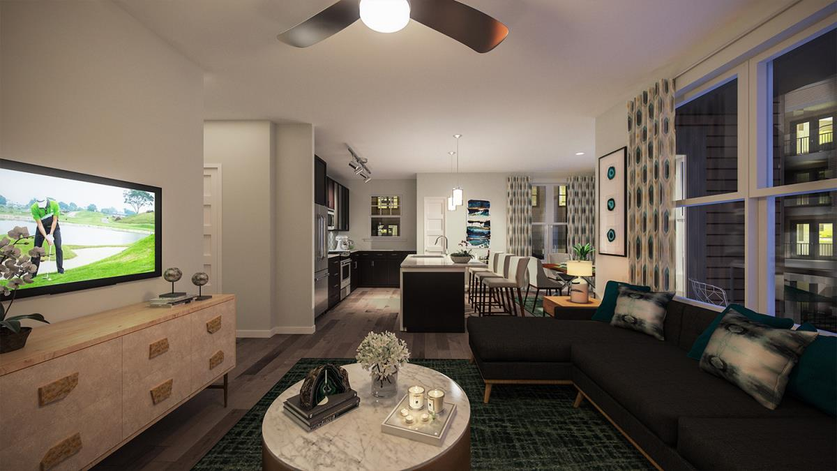 Living Area at Listing #286557