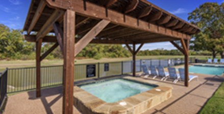 Hot Tub at Listing #137756