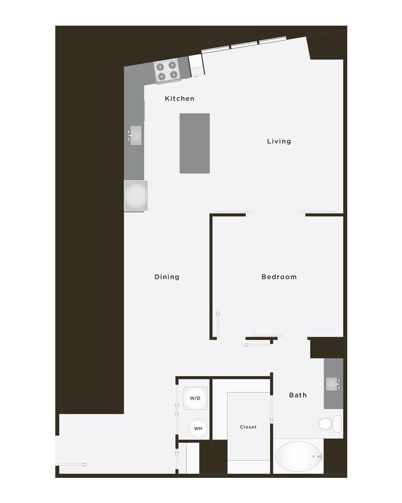 1,166 sq. ft. Supreme floor plan