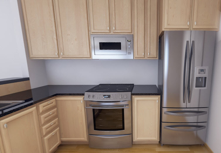 Kitchen at Listing #259014