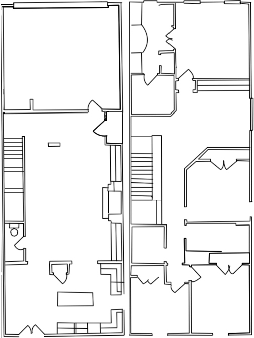 2,000 sq. ft. A floor plan