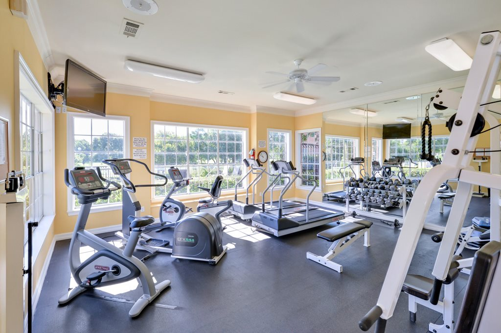 Fitness Center at Listing #137271