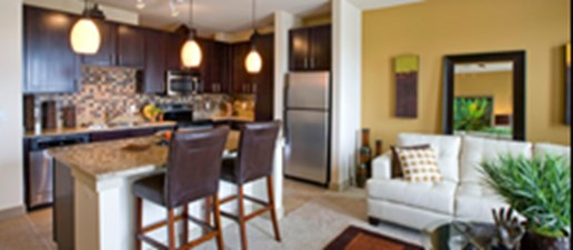 Living/Kitchen at Listing #146764