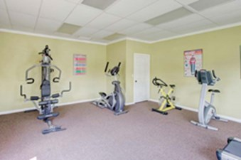 fitness center at Listing #139956