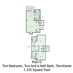 1,335 sq. ft. B5 floor plan