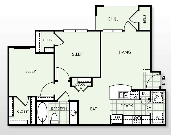 846 sq. ft. Expand floor plan