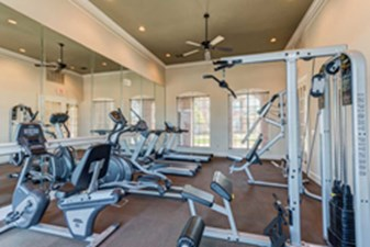 fitness center at Listing #140138