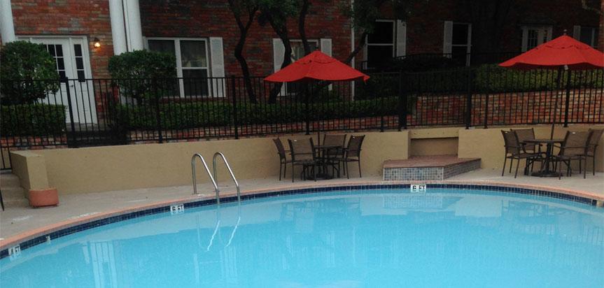 Pool at Listing #140941