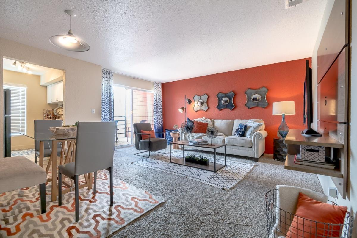 Living/Dining at Listing #136913