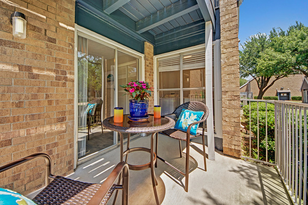 Patio at Listing #136051