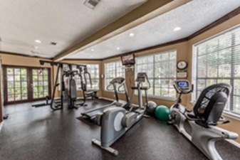 fitness center at Listing #139763