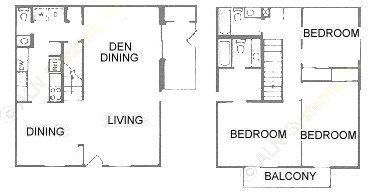 1,528 sq. ft. floor plan