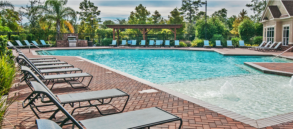 Pool at Listing #147428