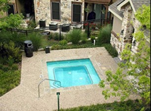 Hot Tub at Listing #140687