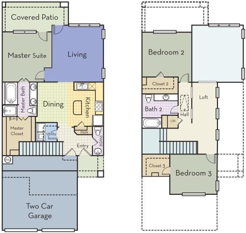 1,869 sq. ft. C2.5AT floor plan