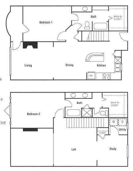 1,754 sq. ft. floor plan