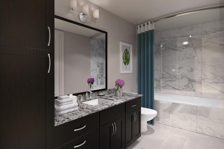 Bathroom at Listing #259597
