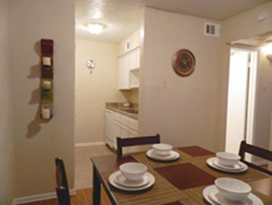 Dining/Kitchen at Listing #225838