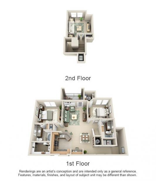1,426 sq. ft. Guad/Grande floor plan