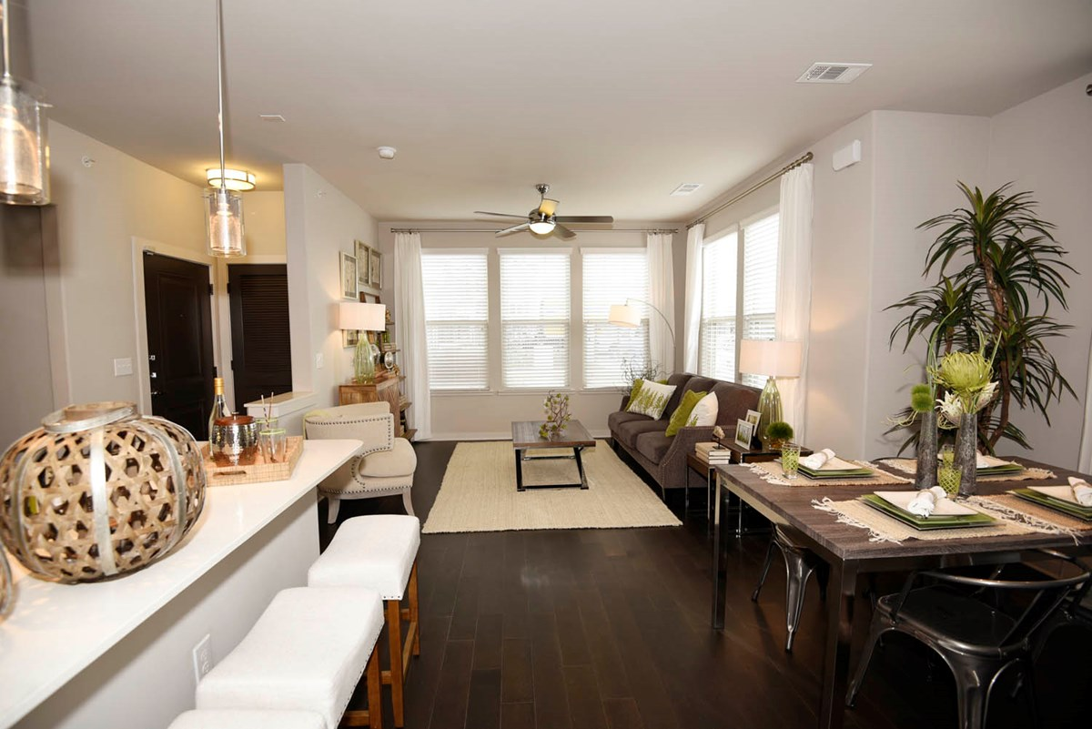 Living/Dining at Listing #282116