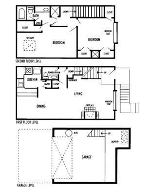 1,427 sq. ft. Bolero floor plan