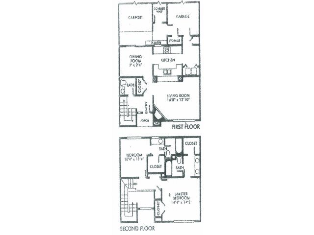 1,475 sq. ft. D floor plan