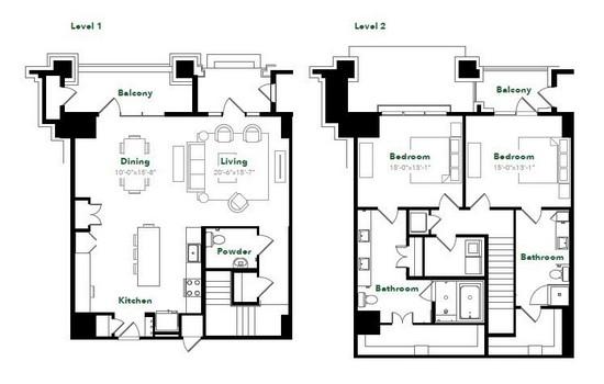 2,090 sq. ft. TH28A floor plan